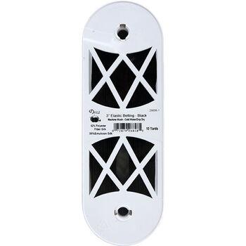 """Dritz Elastic Belting 3""""X10yd-Black"""