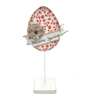 Easter Large Printed Egg Table Decor