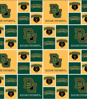 "Baylor University Bears Cotton Fabric 43""-Block, , hi-res"