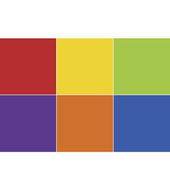 "Shrink Film 8.5""X11"" 6/Pkg-Assorted Colors"