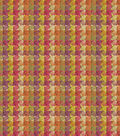 HGTV Home Upholstery Fabric-Checkered Past Berry