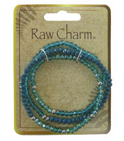 Naturals Raw Charm Blue Necklace, , hi-res