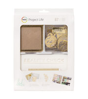 Project Life Heidi Swapp 87 Pack Value Kit-Kraft & Foil, , hi-res