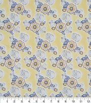 "Keepsake Calico™ Cotton Fabric 43""-Floral Paisley Yellow, , hi-res"