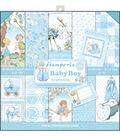Stamperia 10-sheets 12\u0027\u0027x12\u0027\u0027 Double-Sided Paper Pad-Baby Boy