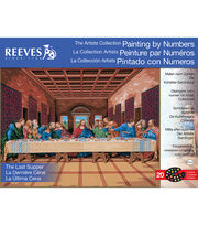 Reeves Artist's Last Supper Paint By Number Kit, , hi-res