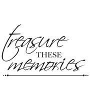 """3""""X5""""-Treasured Memories Words, , hi-res"""