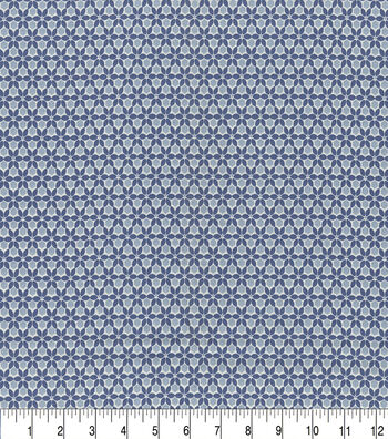 "Keepsake Calico™ Cotton Fabric 44""-Tintype Indigo"