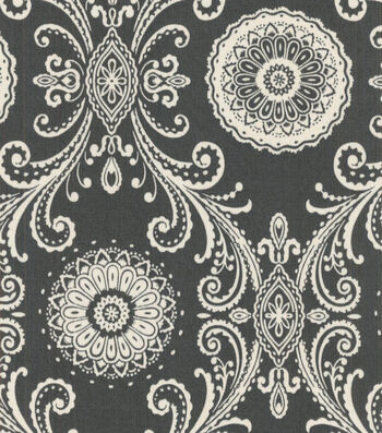 P/K Lifestyles Outdoor Fabric-Reflective Charcoal