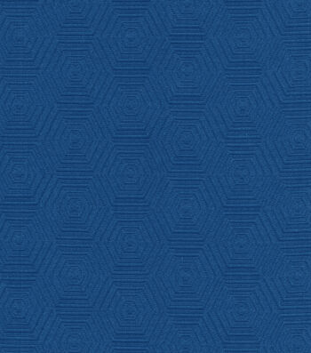 """HGTV Home Upholstery Fabric 57""""-Hex Appeal Cobalt"""
