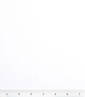 "Keepsake Calico™ Cotton Fabric 43""-White Lined Dot"