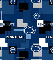 Penn State University Nittany Lions Cotton Fabric 43''-Modern Block, , hi-res