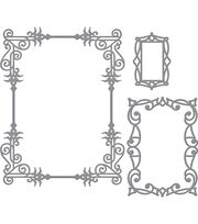 Spellbinders™ Card Creator Stacey Caron Etched Die-A2 Swirls Frame, , hi-res