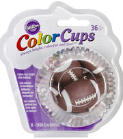 Standard Real Photo Clear Baking Cups 36/Pkg, , hi-res