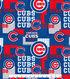 Chicago Cubs Cotton Fabric 58\u0022-Patch