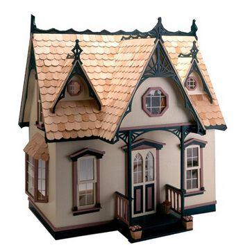 Greenleaf Dollhouse Kit-Orchid