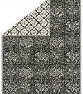 No Sew Fleece Throw 72\u0022-Onyx Stamped