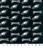 "Philadelphia Eagles Cotton Fabric 58""-Logo, , hi-res"
