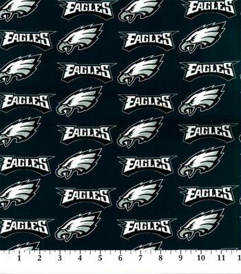 "Philadelphia Eagles Cotton Fabric 58""-Logo"