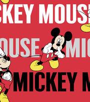 "Disney® Mickey Cotton Fabric 43""-Traditional, , hi-res"