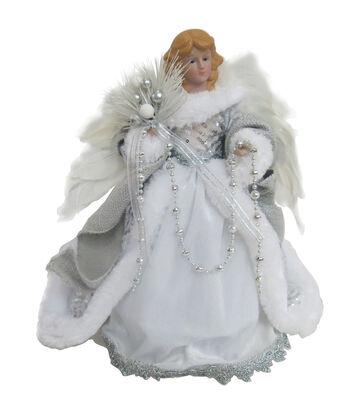 Maker's Holiday Christmas 12'' Angel-White