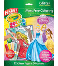 Crayola® Color Wonder Princess Glitter Coloring Pages&Markers