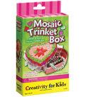 Creativity For Kids Activity Kits-Mosaic Trinket Box