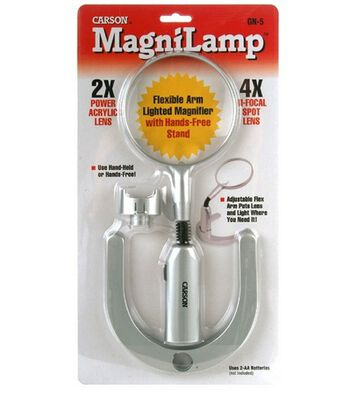 Magnilamp Magnifier With Hands-Free Stand