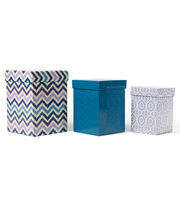 DCWV Square Nested Box Set: Blue and Purple, , hi-res