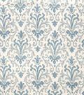 Jaclyn Smith Upholstery Fabric-Damask ROT Lagoon