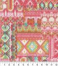 Anti-Pill Fleece Fabric 59\u0022-Garden Patch