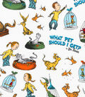 Dr. Seuss Cotton Fabric 44\u0022-What Pet Should I Get