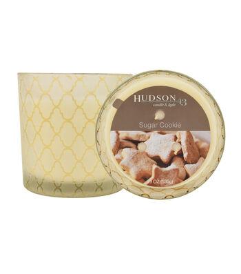 Hudson 43™ Candle & Light Collection 19oz Patterned Jar Sugar Cookie