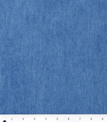 "Bottomweight Denim Fabric 57""-Light Wash"