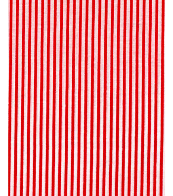 "Holiday Showcase™ Christmas Cotton Fabric 43""-Red Stripe"