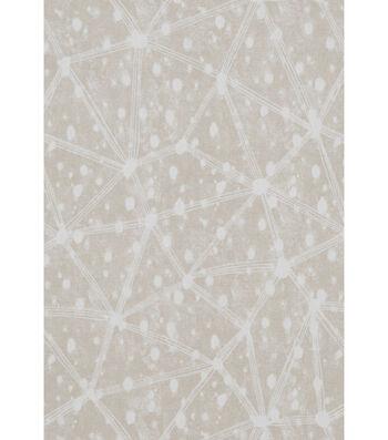 "Nate Berkus Canvas Fabric 54""-Clestre Paramount Pearl Gray"
