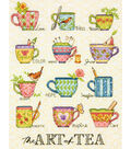 The Art Of Tea Counted Cross Stitch Kit 14 Count