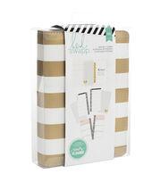 Heidi Swapp Personal Memory Planner-Gold Foil Stripe, , hi-res