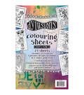Dylusions 5\u0022 x 8\u0022 Coloring Sheets #2