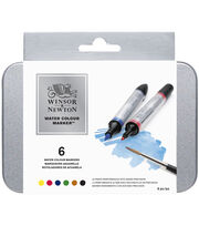 Winsor & Newton Watercolor Marker Set 6 pcs, , hi-res