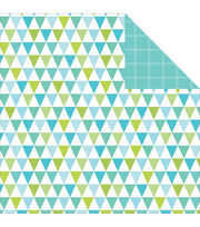 "Pop! Double-Sided Cardstock 12""X12""-Bunting, , hi-res"