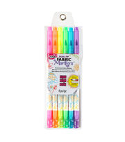 Tulip Dual-Tip Fabric Marker Set 4pc-Neon, , hi-res