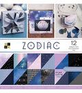 DCWV 36 Pack 12\u0027\u0027x12\u0027\u0027 Premium Stack Printed Cardstock-Zodiac