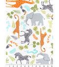 Nursery Cotton Fabric 43\u0022-Jungle