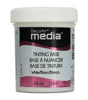 DecoArt Media White Tint Base 4oz, , hi-res
