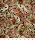 Legacy Studio™ Cotton Fabric 44\u0022-Hampton Court Fancy Leaf Green