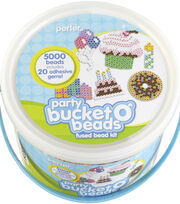 Perler Fun Fusion Fuse Bead Activity Bucket Party, , hi-res