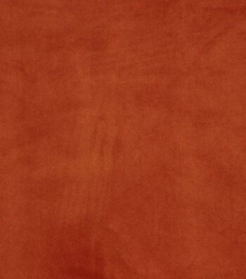 "Hudson 43 Upholstery Velvet Fabric 56""-Orange"