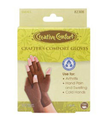 Creative Comfort Crafter's Comfort Glove-Small
