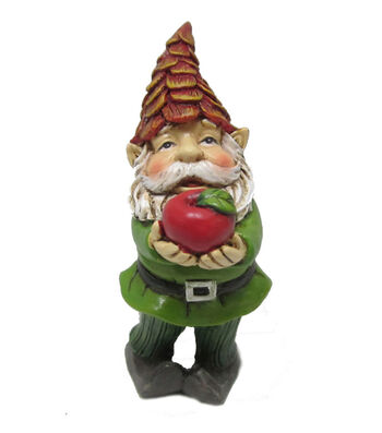 Fall Into Color Littles Gnome with Apple